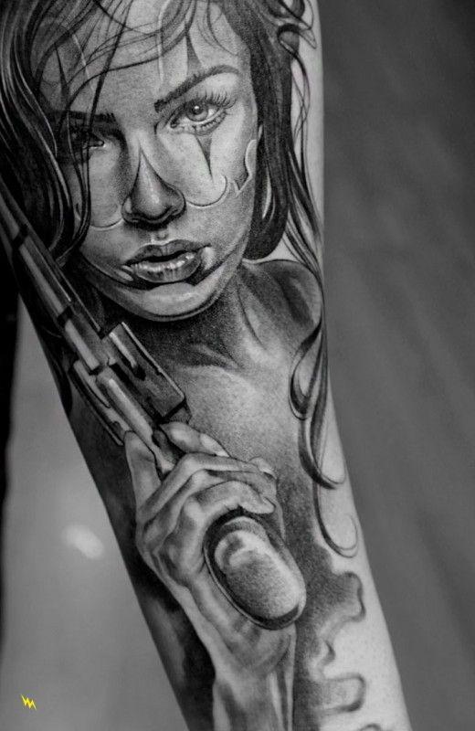 Tatouage Macabre femme : 20+ idées de tatouages et sa signification 4