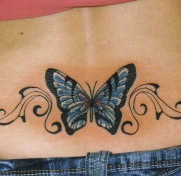 Tatouage bas du dos femme : 30+ idées de tatouages et leurs significations 51