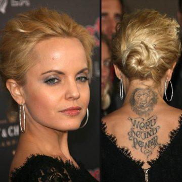 Tatouage nuque femme : 30+ idées de tatouages et leurs significations 12