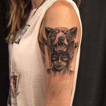 Tatouage bras femme : 50+ idées de tatouages et leur signification 320