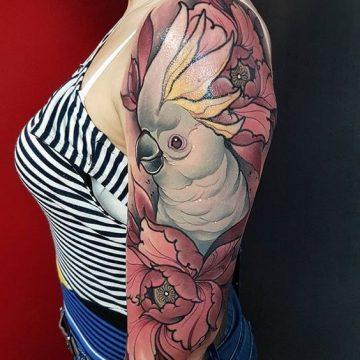 Tatouage bras femme : 50+ idées de tatouages et leur signification 330