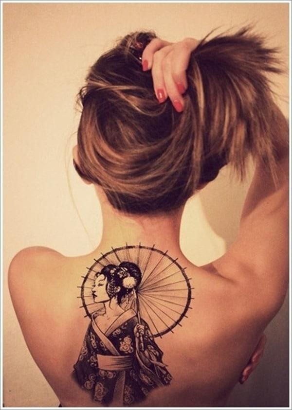 Tatouage dos femme : 50+ idées de tatouages et leurs significations 35