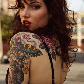 Tatouage dos femme : 50+ idées de tatouages et leurs significations 46