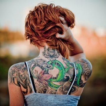 Tatouage dos femme : 50+ idées de tatouages et leurs significations 60