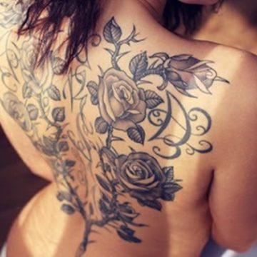 Tatouage dos femme : 50+ idées de tatouages et leurs significations 61