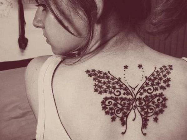 Tatouage dos femme : 50+ idées de tatouages et leurs significations 63