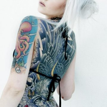 Tatouage dos femme : 50+ idées de tatouages et leurs significations 70