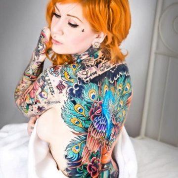 Tatouage dos femme : 50+ idées de tatouages et leurs significations 74