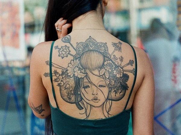 Quelle partie du corps choisir pour un tatouage ? : 9 idées de d'emplacements 52