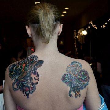 Tatouage dos femme : 50+ idées de tatouages et leurs significations 100