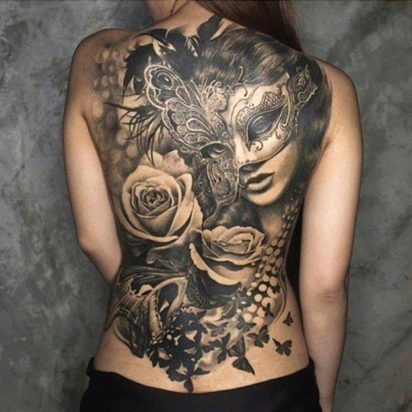 Tatouage dos femme : 50+ idées de tatouages et leurs significations 101
