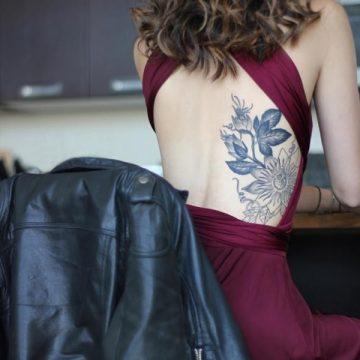 Tatouage dos femme : 50+ idées de tatouages et leurs significations 116