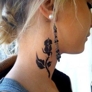 Tatouage nuque femme : 30+ idées de tatouages et leurs significations 1