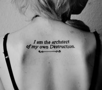 Tatouage Phrase femme : 35+ idées de tatouages et sa signification 25