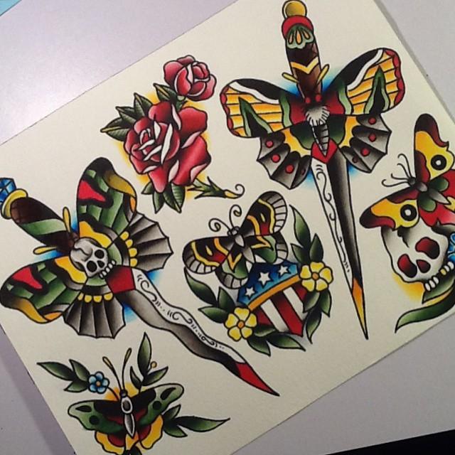 Tatouage Old School femme : 25+ idées de tatouages et sa signification 12