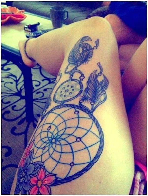 Tatouage cuisse femme : 30+ idées de tatouages et leurs significations 15