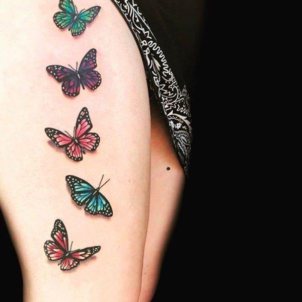 Tatouage cuisse femme : 30+ idées de tatouages et leurs significations 100