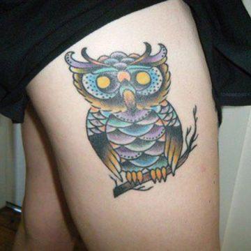 Tatouage cuisse femme : 30+ idées de tatouages et leurs significations 308