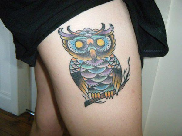 Tatouage cuisse femme : 30+ idées de tatouages et leurs significations 119