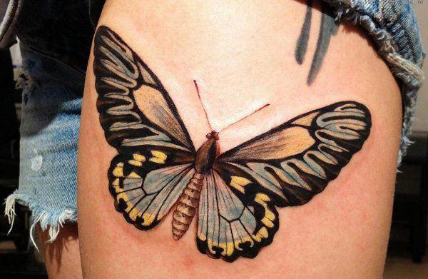 Tatouage cuisse femme : 30+ idées de tatouages et leurs significations 160