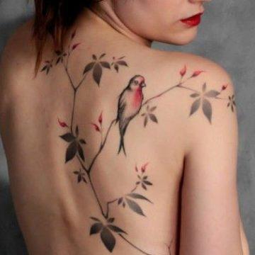 Tatouage dos femme : 50+ idées de tatouages et leurs significations 3