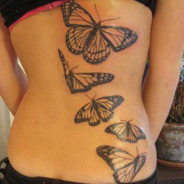 Tatouage dos femme : 50+ idées de tatouages et leurs significations 131