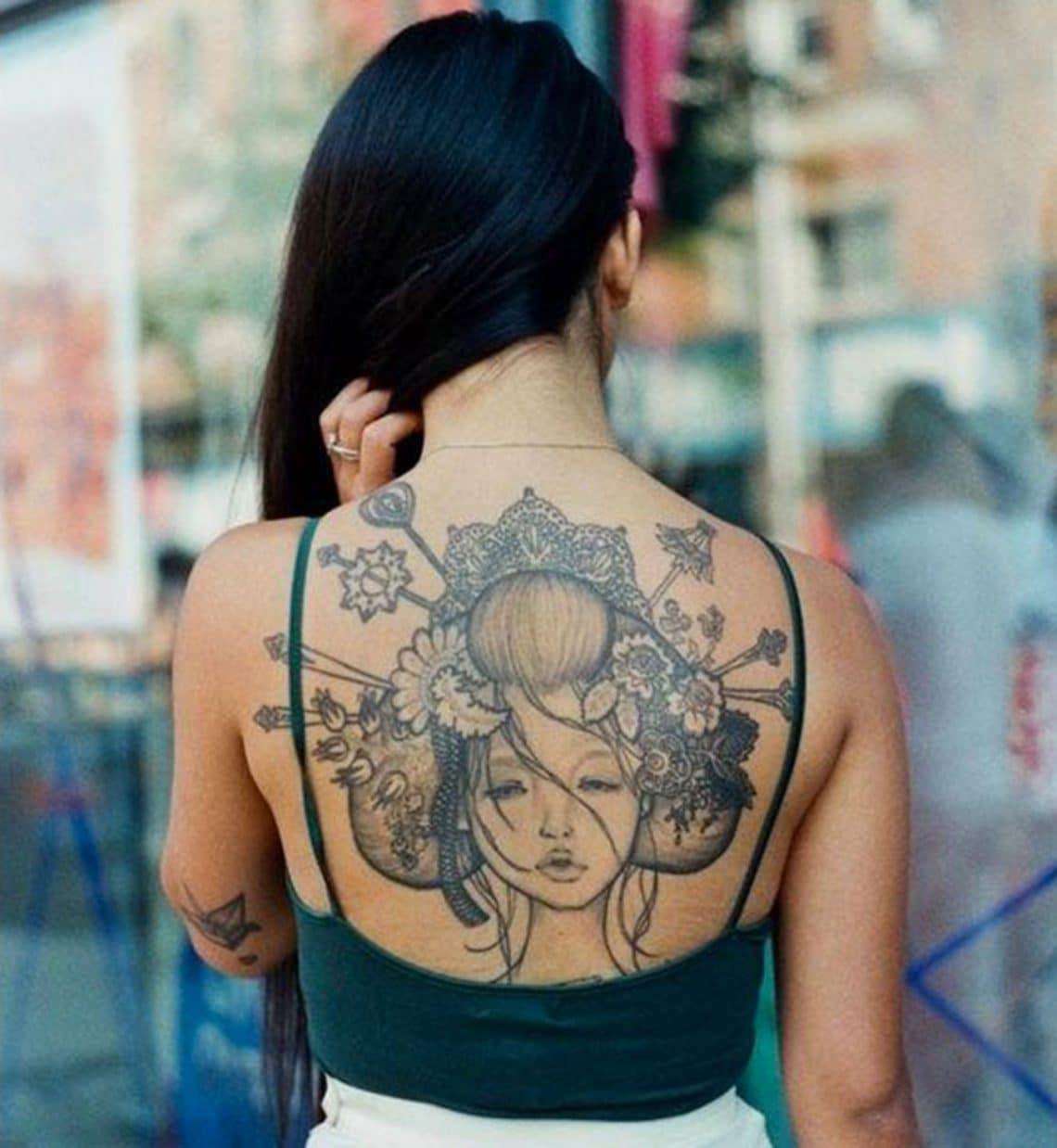 Tatouage Japonais femme : 15+ idées de tatouages et sa signification 4