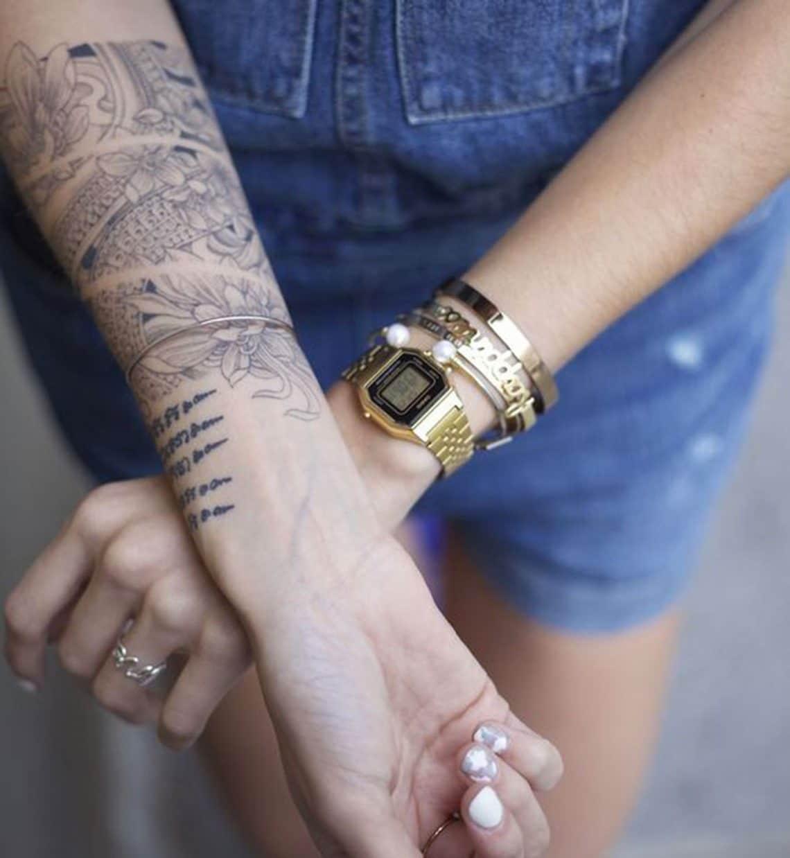 Tatouage Japonais femme : 15+ idées de tatouages et sa signification 10
