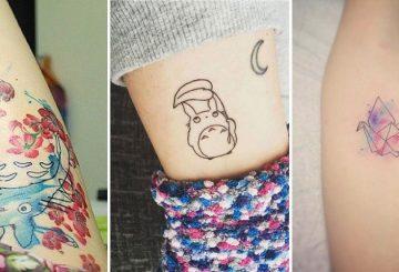 Exemple de tatouage japonais sur le corps d'une femme