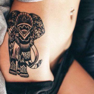 Tatouage Tribal femme : 50+ idées de tatouages et sa signification 33