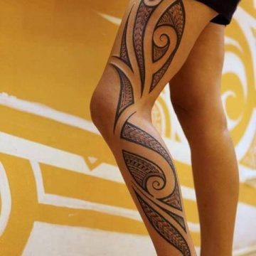 Tatouage Tribal femme : 50+ idées de tatouages et sa signification 89