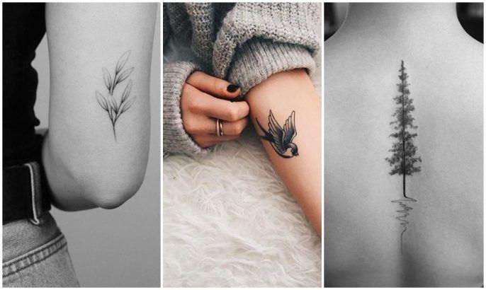 Exemple de tatouage dotwork sur le corps d'une femme