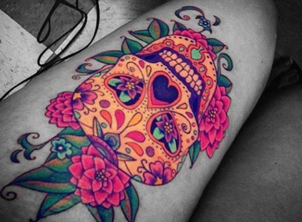 Tatouage Macabre femme : 20+ idées de tatouages et sa signification 1