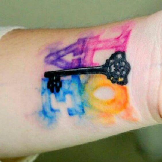 Tatouage poignet femme : 25+ idées de tatouages et leurs significations 10