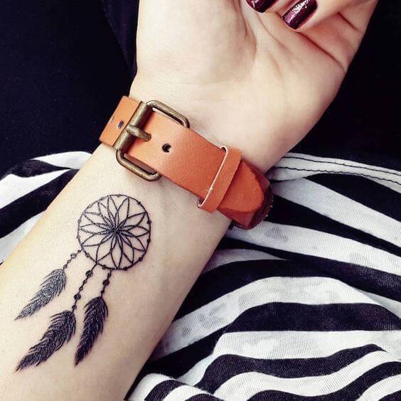 Tatouage poignet femme : 25+ idées de tatouages et leurs significations 37