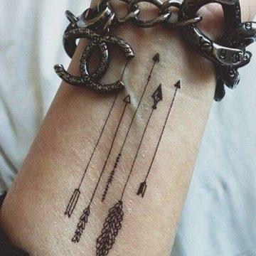 Tatouage poignet femme : 25+ idées de tatouages et leurs significations 89