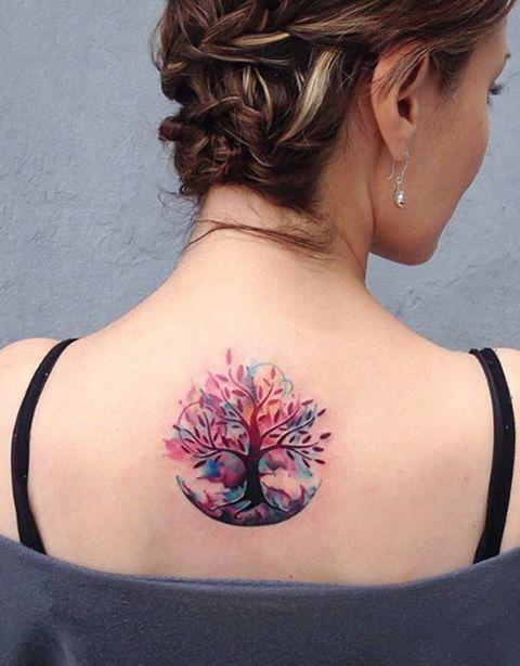 Tatouage femme arbre de vie : 10+ idées de tatouages et leurs significations 5