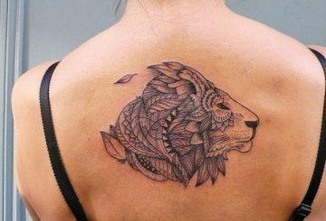 Tatouage lion femme : 30+ idées de tatouages et sa signification 21