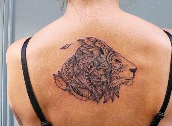 Tatouage lion femme : 30+ idées de tatouages et sa signification 1