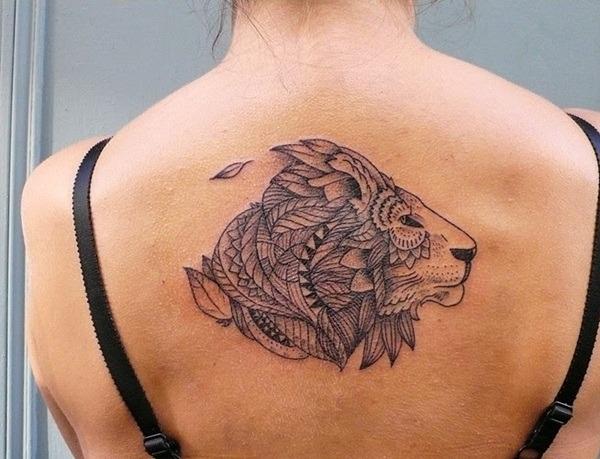 Tatouage lion femme : 30+ idées de tatouages et sa signification 8