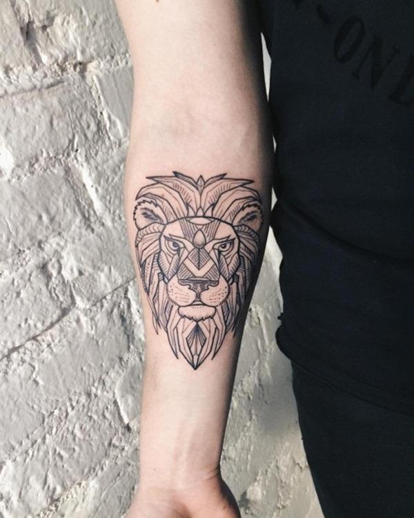 Tatouage lion femme : 30+ idées de tatouages et sa signification 9