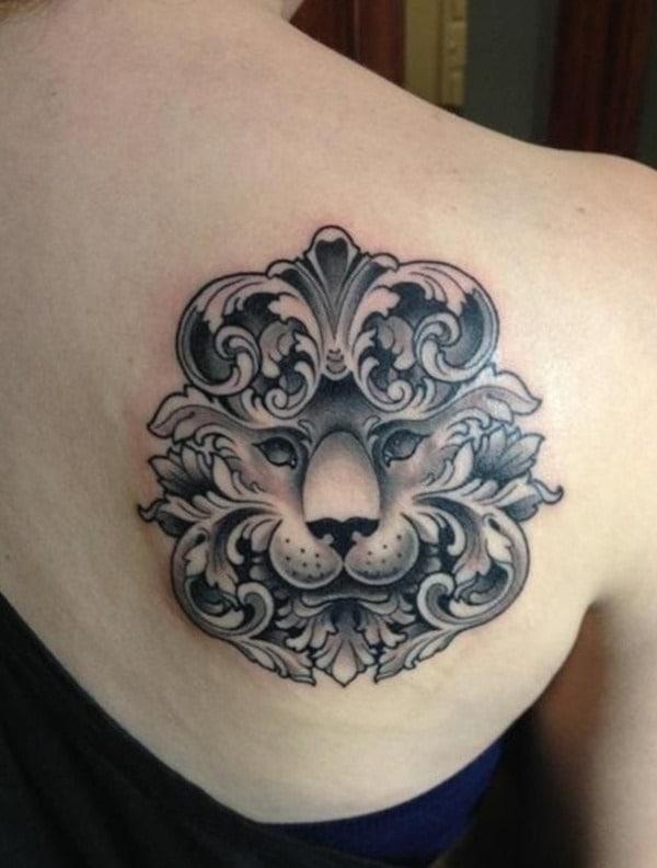 Tatouage lion femme : 30+ idées de tatouages et sa signification 18