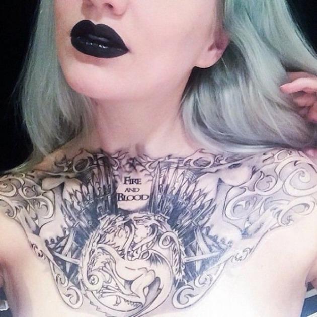 Tatouage Game of Thrones : 25+ meilleurs tatouages de la série 12