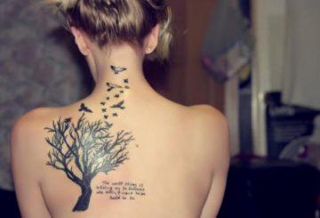 Tatouage femme arbre de vie : 10+ idées de tatouages et leurs significations 32