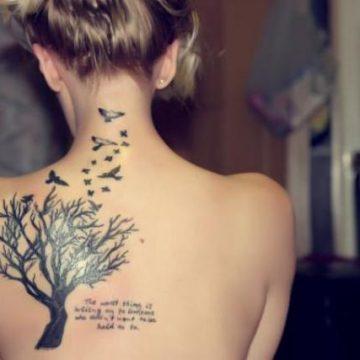 Tatouage nuque femme : 30+ idées de tatouages et leurs significations 35