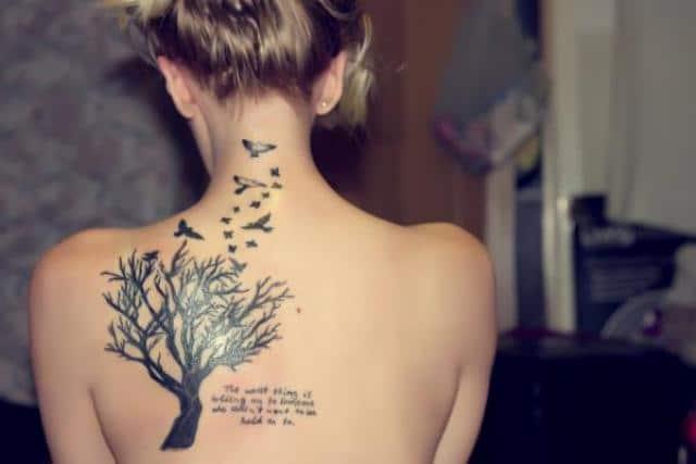Tatouage femme arbre de vie : 10+ idées de tatouages et leurs significations 1