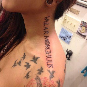 Tatouage Game of Thrones : 25+ meilleurs tatouages de la série 15