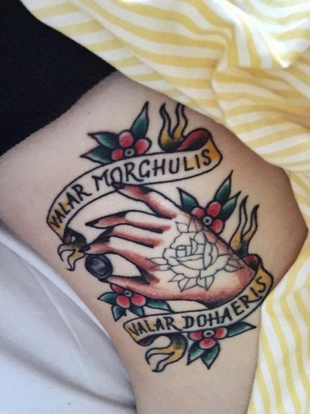 Tatouage Game of Thrones : 25+ meilleurs tatouages de la série 16
