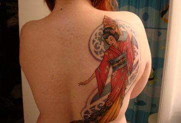 Tatouage geisha : 25+ idées de tatouages 18
