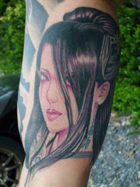 Tatouage geisha : 25+ idées de tatouages 2